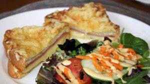 Croque Monsieur Croissant Sandwiches