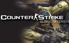 Counter Strike Global Offensive online game.