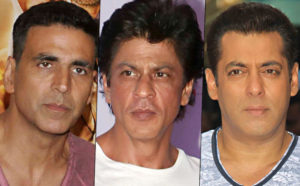 shah rukh khan salman and akshay