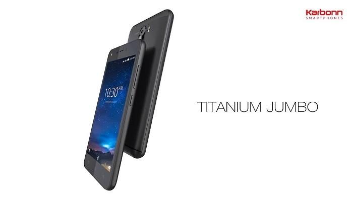 karbonn titanium jumbo launch