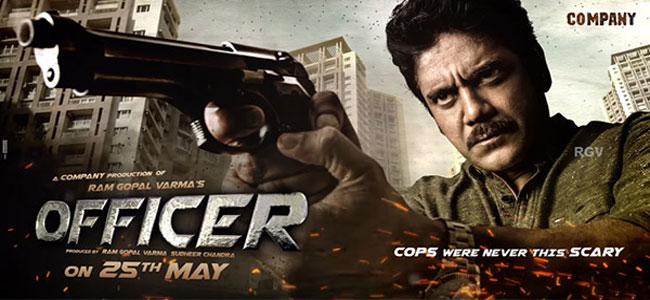 Nagarjuna officer Poster