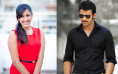 Niharika and prabhas