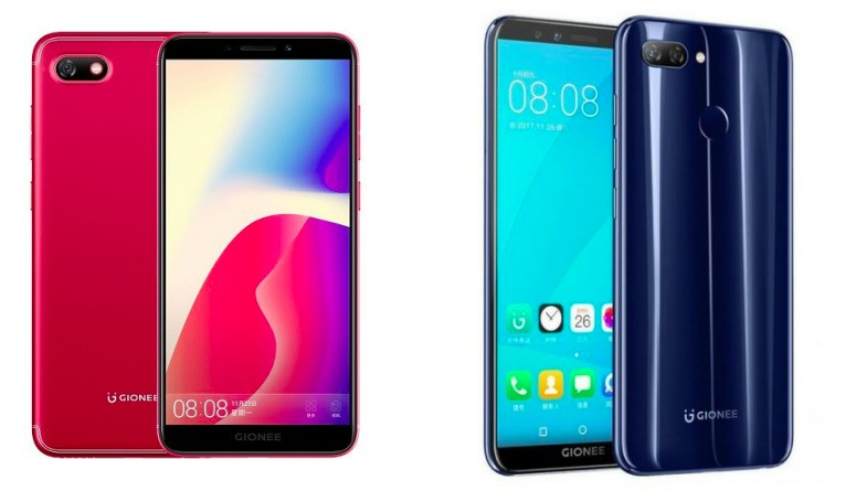 gionee f205 s11 lite launched
