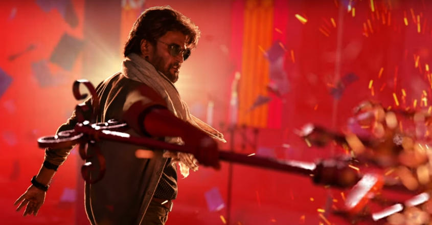 petta rajinikanth first poster