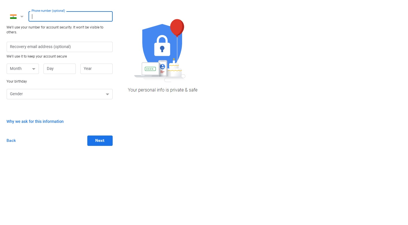 gmail signup 2